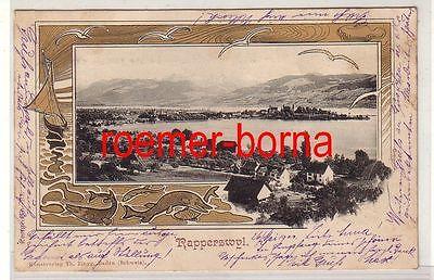 77393 Ak Rapperswyl Rapperswil Schweiz 1900