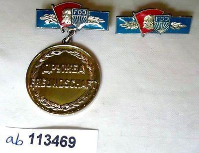 DDR Orden Ehrenmedaille der freien deutschen Jugend FDJ (113468)