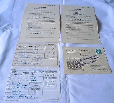 Seltene DDR Dokumente über mitgeführte Waren und Zahlungsmittel 1965 (114468) 0