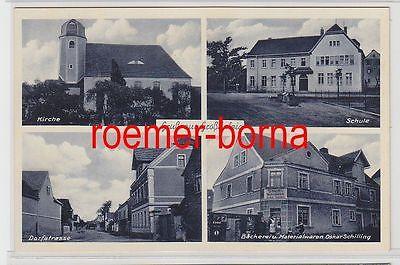 76435 Mehrbild Ak Gruß aus Großdalzig Bäckerei u. Materialwaren usw. um 1920