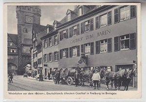 56101 Ak Freiburg Breisgau Weinfuhre vor dem