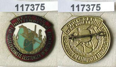 Emaillierte DDR Medaille Berg- und Hüttenwesen (117375)