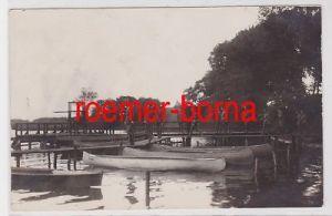 85047 Foto Ak Eutin Generaloberst Hans von Seeckt besichtigt Schwimmanstalt 1926
