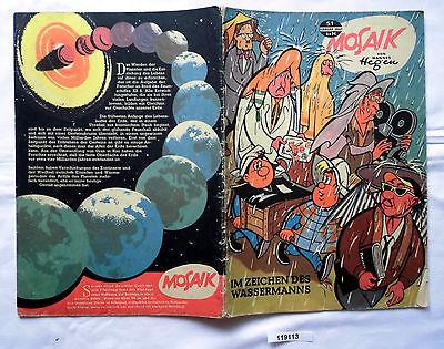 Mosaik von Hannes Hegen Digedag Nummer 51 von 1961 (119113)