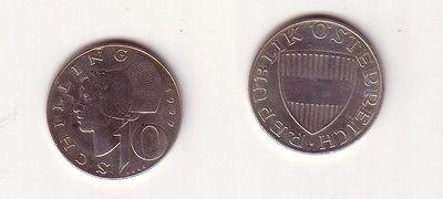 10 Schilling Silber Münze österreich 1957114891 Nr 232604146897
