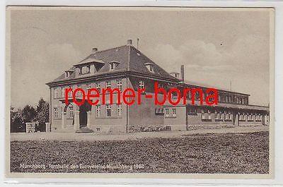 71566 Ak Münchberg Turnhalle des Turnvereins Münchberg 1862, 1931