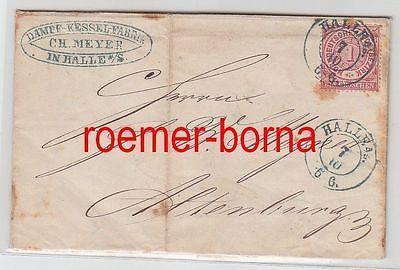 60207 Brief Norddeutscher Postbezirk Dampfkesselfabrik in Halle a.S. 1970
