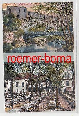 72140 Mehrbild Ak Halle an der Saale Pfälzer Schießgraben 1915
