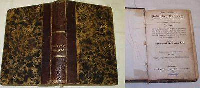 Neues praktisches Badisches Kochbuch, Verlag Malsch & Vogel 1855