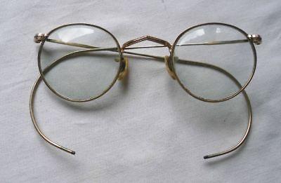 Schöne alte Brille 333er Gold um 1930 (113521)