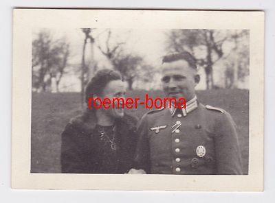 67808 Foto Unteroffizier des Heeres mit Orden im 2.Weltkrieg