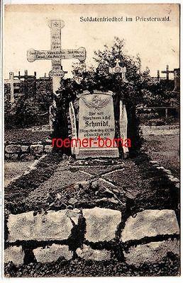 79651 Ak Soldatenfriedhof im Priesterwald  Bois-le-Prêtre Frankreich 1915