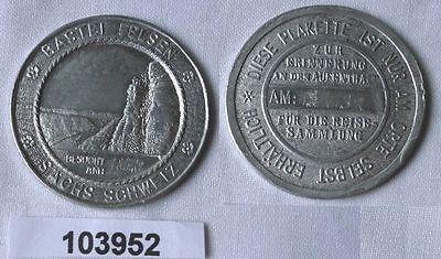 Seltene Wander Medaille Bastei Felsen sächische Schweiz 1937 (103952)