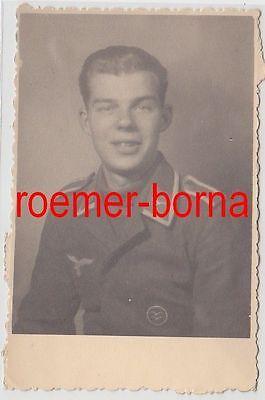 75547 Original Foto Unteroffizier mit Segelflugabzeichen im 2.Weltkrieg