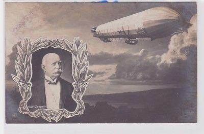 85131 Ak Graf Zeppelin und Luftschiff Zeppelin um 1915