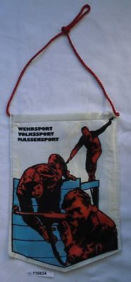 Seltener DDR Wimpel Wehrsport Volkssport Massensport (116634)