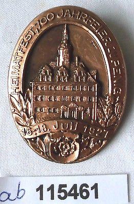 Seltenes Blech Abzeichen Heimatfest 700 Jahrfeier zu Penig 1927 (115461)