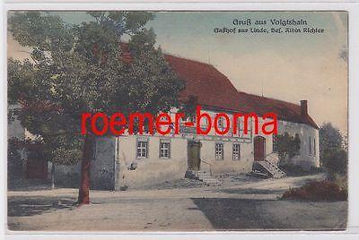 81811 Ak Gruß aus Voigtshain Gasthof zur Linde um 1910