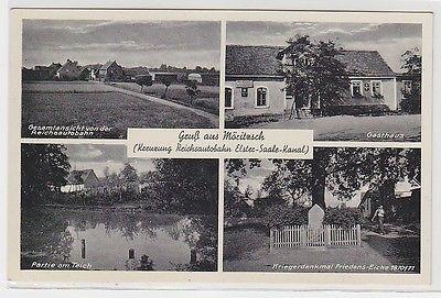 68308 Mehrbild Ak Gruß aus Möritzsch Gasthaus usw. um 1940