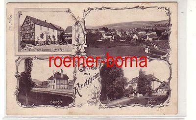 81128 Mehrbild Ak Gruß aus Kirchheim Gasthof zum Bahnhof usw. 1909