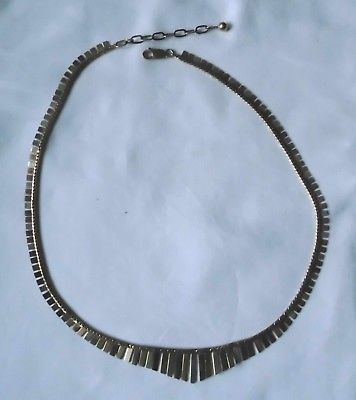 Dekorative mehrfarbige Damen Halskette 333er Gold  (118721)