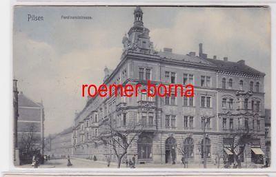 85574 Ak Pilsen Ferdinandstrasse 1909