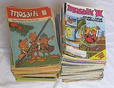 Mosaik Abrafaxe 1/1976 bis 264/1997 komplett 264 Hefte (100528)