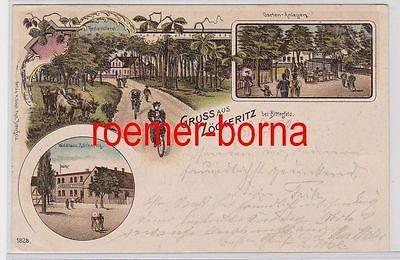 82081 Mehrbild Ak Gruß aus Zöckeritz bei Bitterfeld Waldhaus 1899