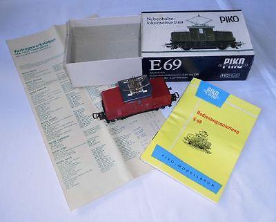 PIKO Nebenbahn Lokomotive E69 Spur H0 im Orighinalkarton (115445)