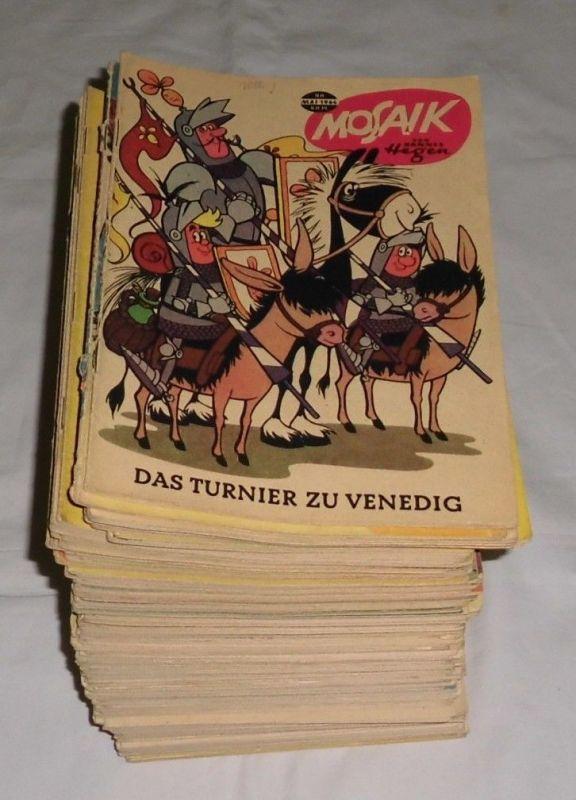 Mosaik von Hannes Hegen Digedags 90 bis 229 komplett (140 Hefte) 0