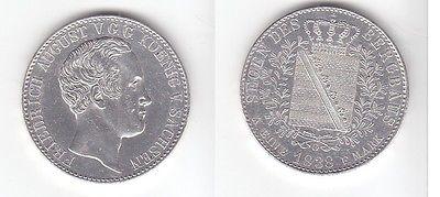 1 Ausbeute Taler Sachsen Friedrich August 1838 G (111998)