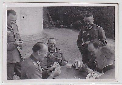 25247 Original Foto Stab des Generalmajor Kurt Herzog im 2.Weltkrieg
