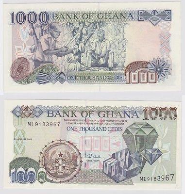1000 Cedis Banknote Bank of Ghana 2003 (123363)