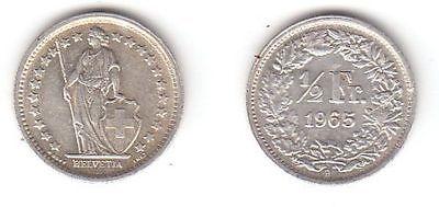 12 Franken Silber Münze Schweiz 1965 B 114583 Nr 332477633745