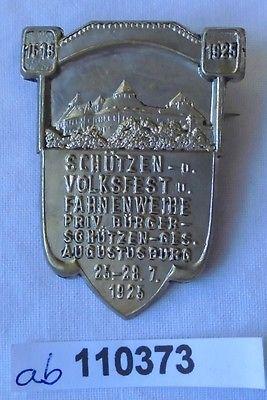 Seltenes Abzeichen Schützen- und Volksfest Augustusburg 1925 (110373)