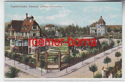 72992 Ak Vogtländische Schweiz Jocketa Villekolonie um 1910