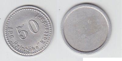 50 Pfennig Aluminium Münze DDR LPG Geld