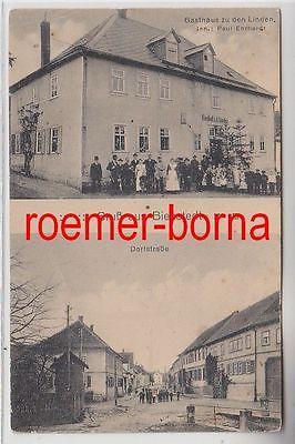 74062 Mehrbild Ak Gruß aus Bienstedt Gasthaus zu den Linden und Dorfstr. um 1910