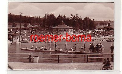 80068 Ak Gemeindebad Brunn bei Auerbach im Vogtland um 1930