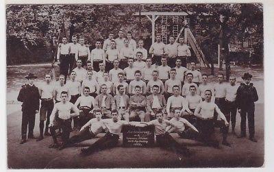 84850 Foto Ak Berlin Turnverein nach Tsingtau China 1908