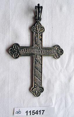 Sachsen Kreuz 990er Silber der landwirtschaftliche Kreisverein um 1925 (115417)