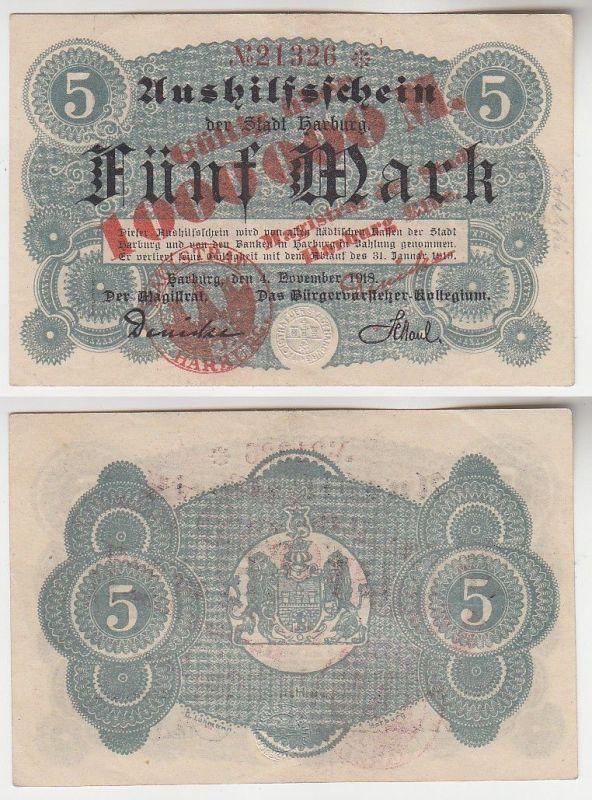 1 Million Mark Überdruck Banknote Stadt Harburg 1923 (115649)