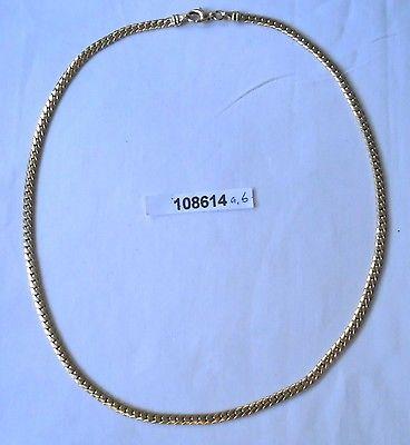Schöne massive Halskette 333er Gold Länge 42,5 cm, 14,6 Gramm (108614)