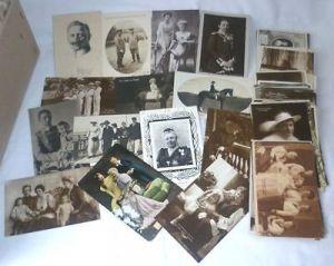 100 Ansichtskarten Adel Monarchie Kaiserhaus um 1910 (DI2246)