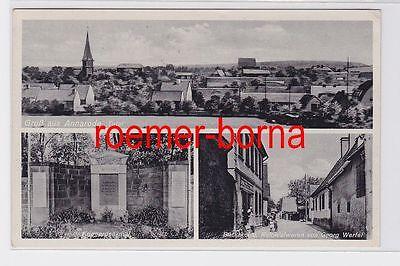 82267 Ak Mehrbild Gruß aus Annarode Bäckerei usw. 1942