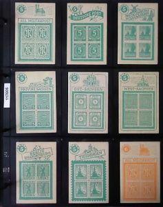 Altes Quartett Kartenspiel