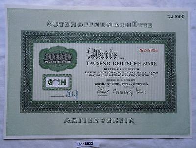 Aktie Gutehoffnungshütte Aktienverein Nürnberg 1975 (116532)