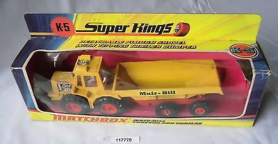 Matchbox Super Kings Modellauto K-5 Car Muir-Hill Tractor im OVP (117778)
