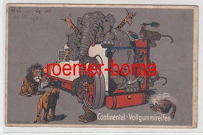 73589 Ak Reklame Continental-Vollgummireifen 1915