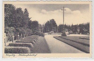 31290 Ak Waplitz in Ostpreussen Heldenfriedhof um 1930